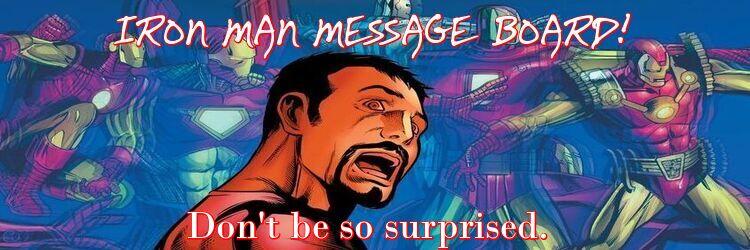 Iron Man Message Board